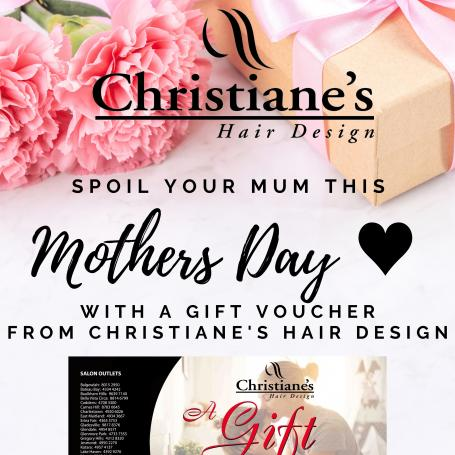 Christiane's Hair Design - Mother's Day voucher